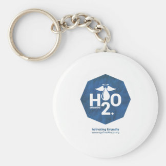 Activating Empathy Humankind 2.0 by egoFree Water Basic Round Button Key Ring