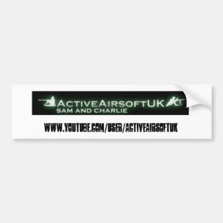 Active Airsoft Bumper Sticker