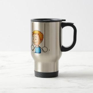 Active kid stainless steel travel mug
