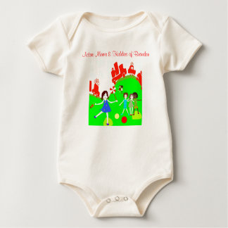 Active Moms Baby Bodysuit