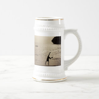 active silhouette coffee mugs