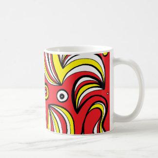 Active Super Brilliant Delightful Basic White Mug