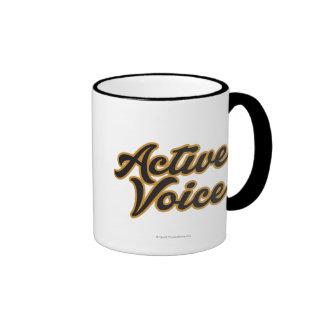 Active Voice Ringer Coffee Mug