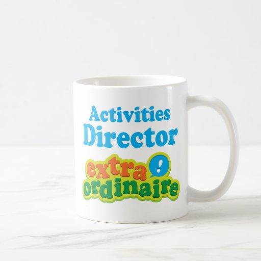 Activities Director Extraordinaire Gift Idea Coffee Mugs