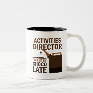 Activities Director Gift (Funny) Two-Tone Coffee Mug