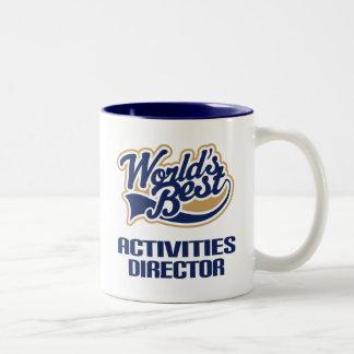 Activities Director Gift (Worlds Best) Mugs