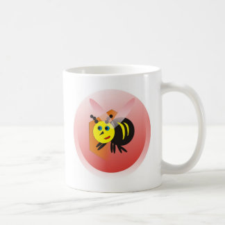 activity honeycomb abelhinha bee fofa basic white mug
