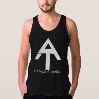 Activize Athletics Black Tank Top