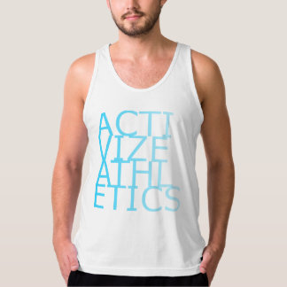 Activize Athletics Teal Faded Tank Top