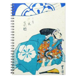 Actor Bando Minosuke 1825 Notebooks