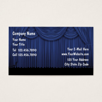 Actor Entertainer Business Card