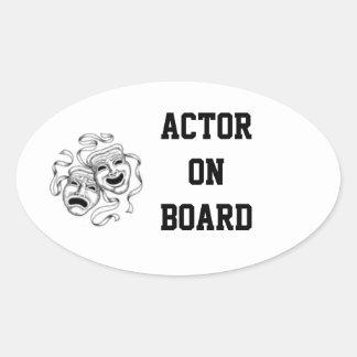 Actor On Board Sticker