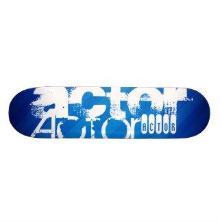 Actor; Royal Blue Stripes Skate Decks
