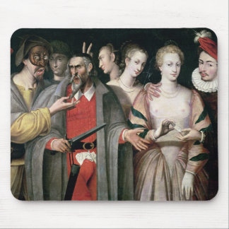 Actors of the Commedia dell'Arte Mouse Pad