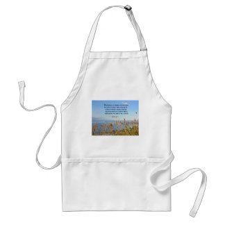 Acts 4:12 Neither is there salvation in any other. Apron