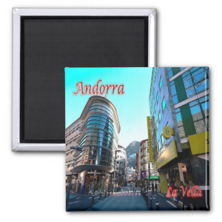 AD - Andorra - La Vella - Center Magnet