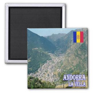 AD - Andorra - La Vella Magnet