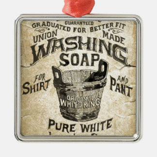 Ad Washing Soap Christmas Ornament