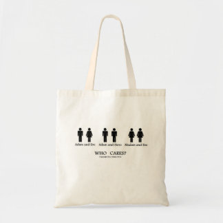 Adam and Eve and... tote bag!