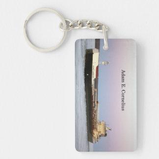 Adam E. Cornelius rectangle acrylic key chain