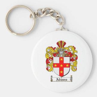 Adams Coat of Arms / Adams Family Crest Key Ring