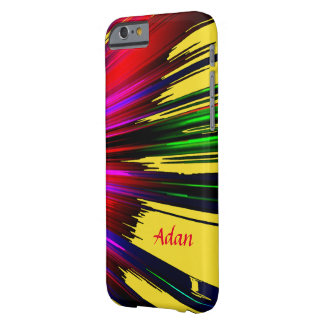Adan Red and Yellow Highlights iPhone case