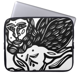 Adaptable Grin Refined Rational Laptop Sleeve