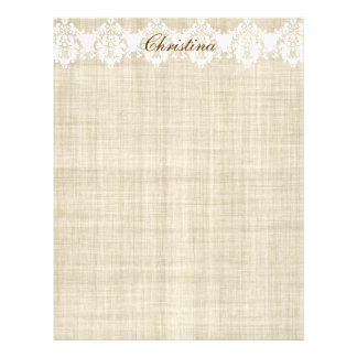 Add Any Name On Linen & Lace Pretty Flyer