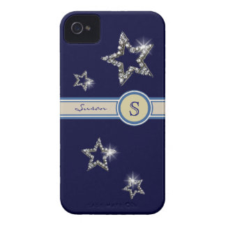 add initial to the stars iPhone 4 cases