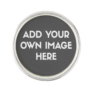 Add Your Own Image/Photo Lapel Pin