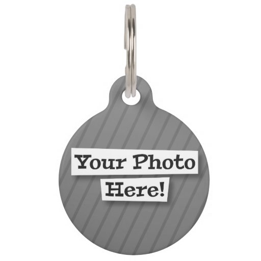 Add Your Own Pattern & Photo Pet ID Tags