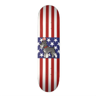Add Your Own Pet and Flag Custom Skateboard