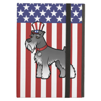 Add Your Own Pet and Flag iPad Air Cover