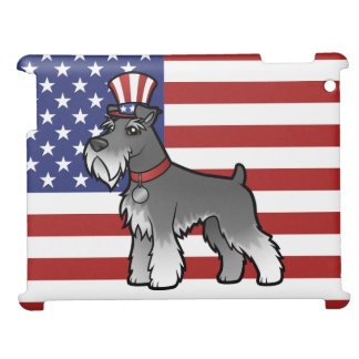 Add Your Own Pet and Flag iPad Cover