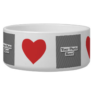 Add Your Photo Pet Water Bowl