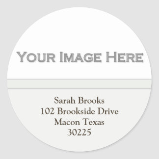 Add Your Picture Address Stickers