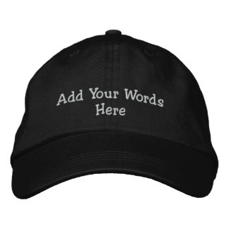 Add Your Words Cap