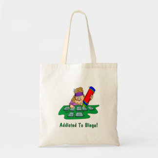 Addicted To Bingo! Tote Bag