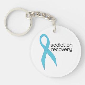 addiction recovery ribbon