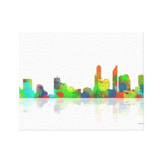 Adelaide SA Skyline Canvas Print