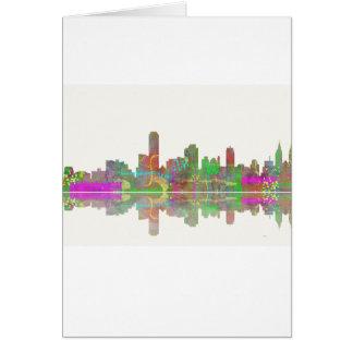 Adelaide SA Skyline Greeting Card