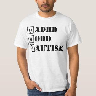 ADHD, ODD, autism; Cheque! T-Shirt