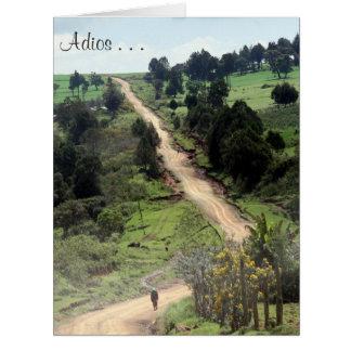 adios track big big greeting card