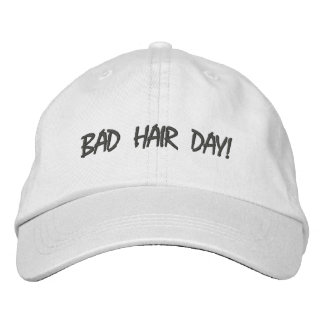 Adjustable Bad Hair Day Hat