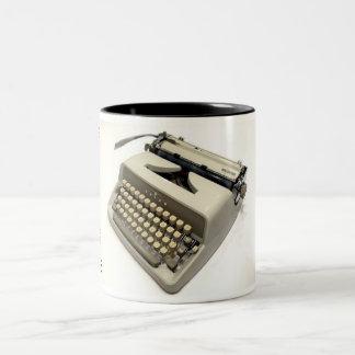Adler J4 typewriter Two-Tone Mug