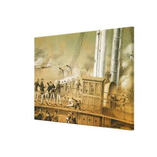 Admiral Amedee Anatole Courbet Canvas Print