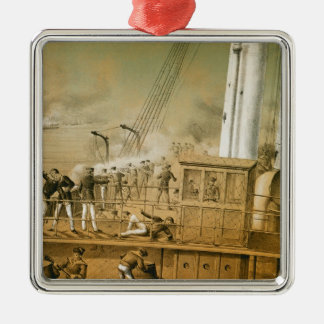 Admiral Amedee Anatole Courbet Christmas Ornament