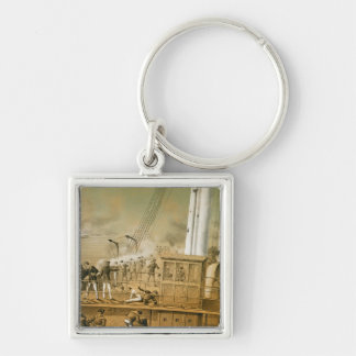 Admiral Amedee Anatole Courbet Key Ring