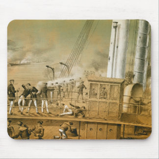 Admiral Amedee Anatole Courbet Mouse Pad