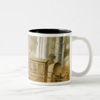 Admiral Amedee Anatole Courbet Two-Tone Coffee Mug